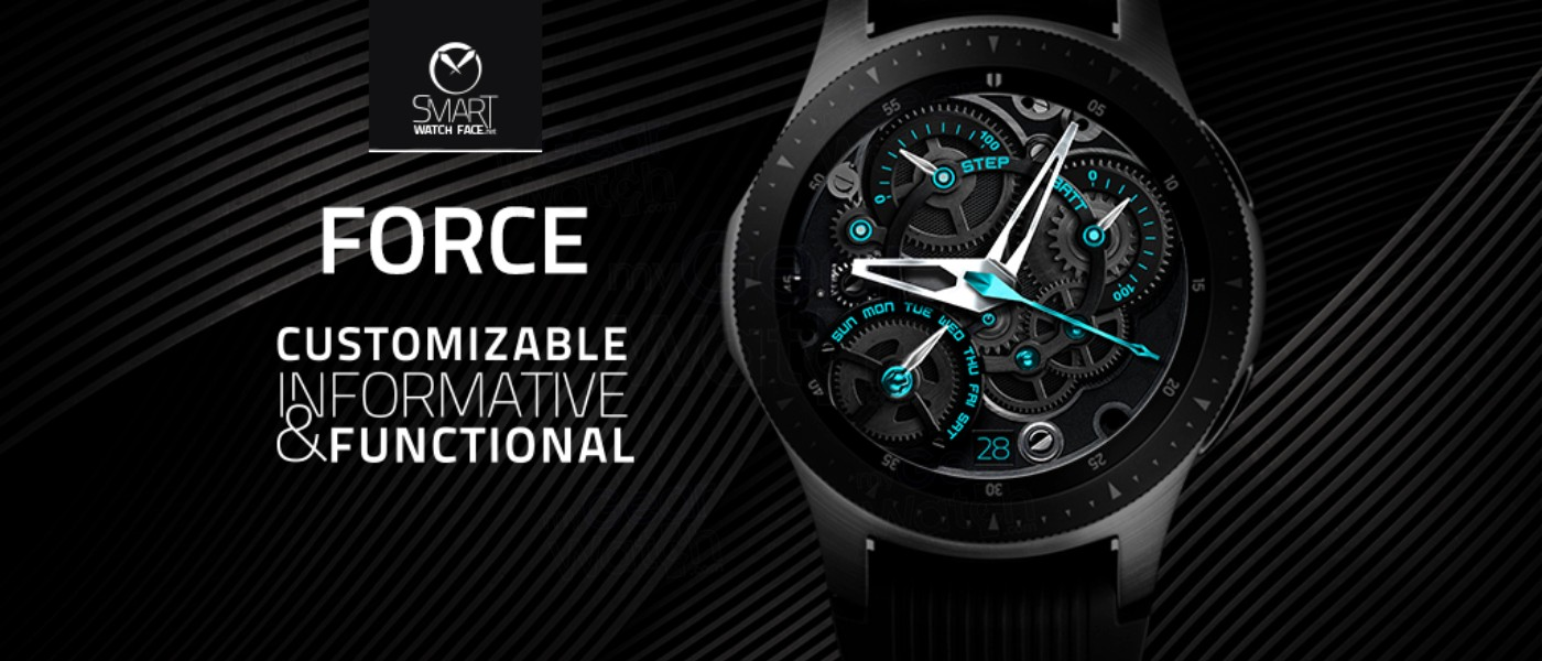 MyGalaxyWatch - Watchface overview: [PERSONA] Force