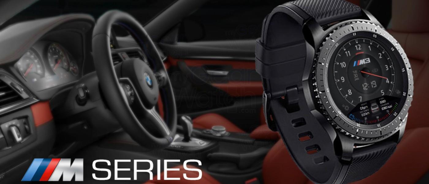 Famoso MyGalaxyWatch - Watchface overview: BMW M Series GZ02