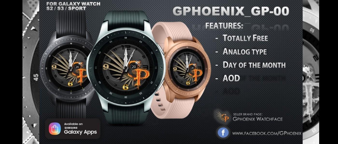 MyGalaxyWatch - Watchface overview: GPhoenix-00