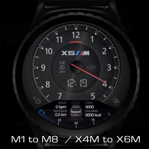 Mygalaxywatch Watchface Overview Bmw M Series