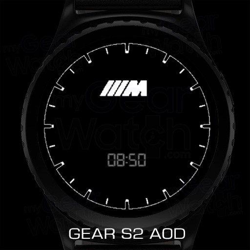 MyGalaxyWatch - Watchface overview: BMW M Series