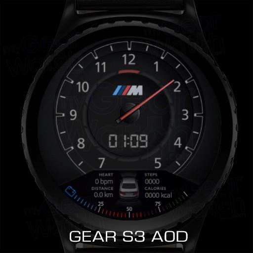 Preferenza MyGalaxyWatch - Watchface overview: BMW M Series NR57
